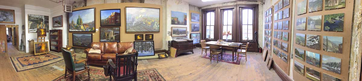 Inside Ron's Studio