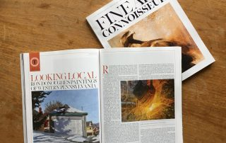 Fine Art Connoisseur Magazine Article