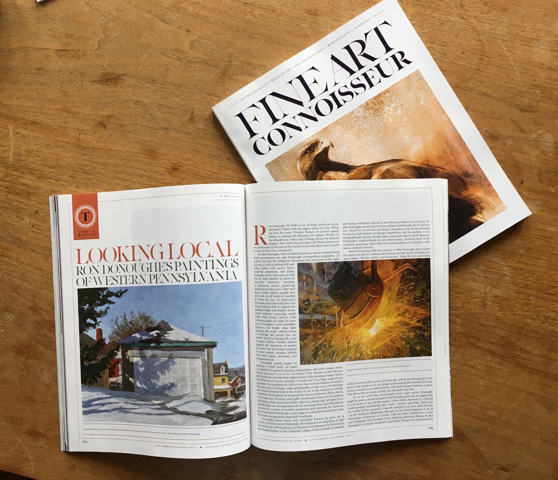 Fine Art Connoisseur Magazine Article