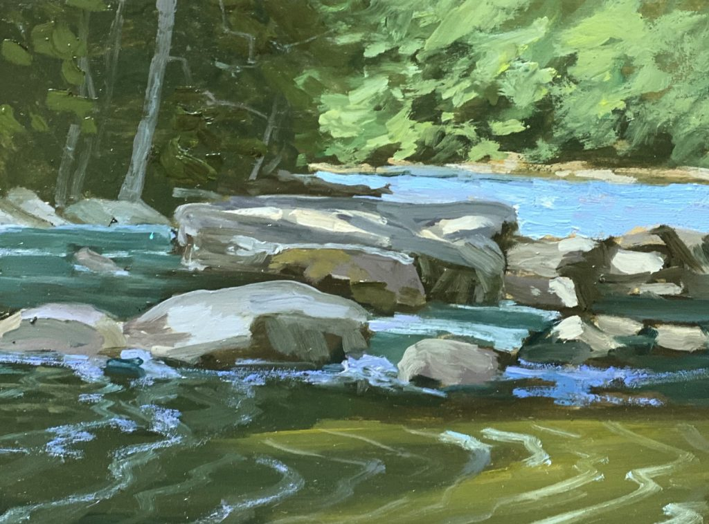 Allegheny River Painting